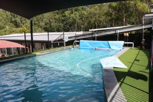Pine Mountain Road Child care Carindale pool area